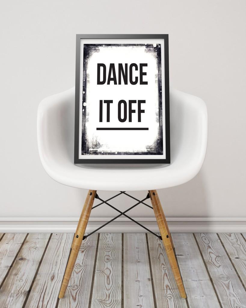 DANCE IT OFF PRINT INSITU