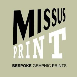 missus print logo for gravatar olive