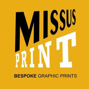 missus print logo for gravatar orange